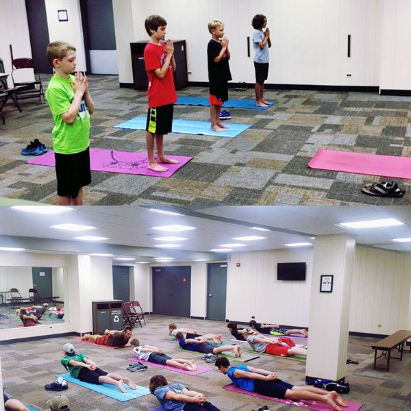 Standard Mixed Ages Camp - Yoga Class